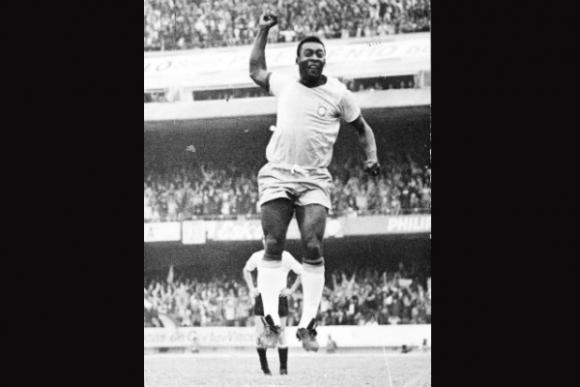 Pelé solo jugó una copa; fue figura pero no le dio para ser campeón.