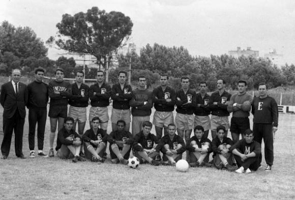 Venezuela y su primera incursión en la Copa, en 1967.