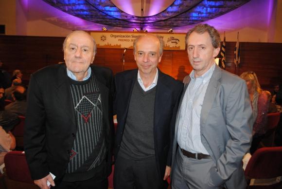Mauricio Oberlander, Javier García, Edgard Terdiman.