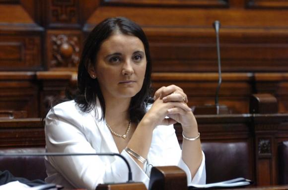 Diputada colorada por Salto Cecilia Eguiluz. Foto: Archivo de El País