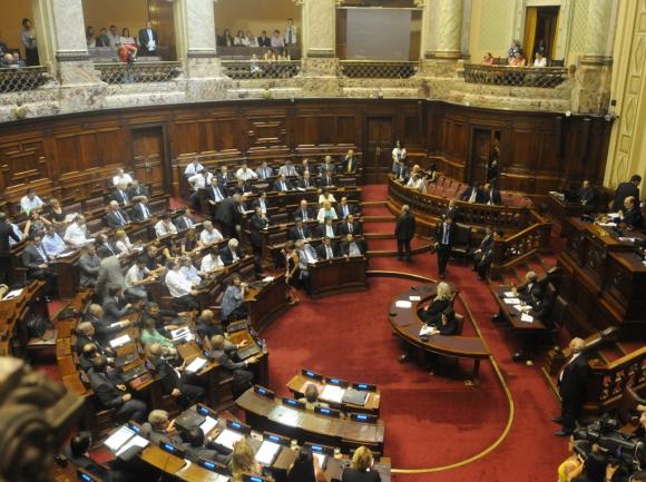 Asunción Diputados . Foto: Francisco Flores