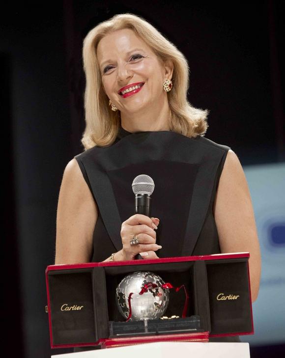 Carla Delfino (Italia), ganadora por Europa.