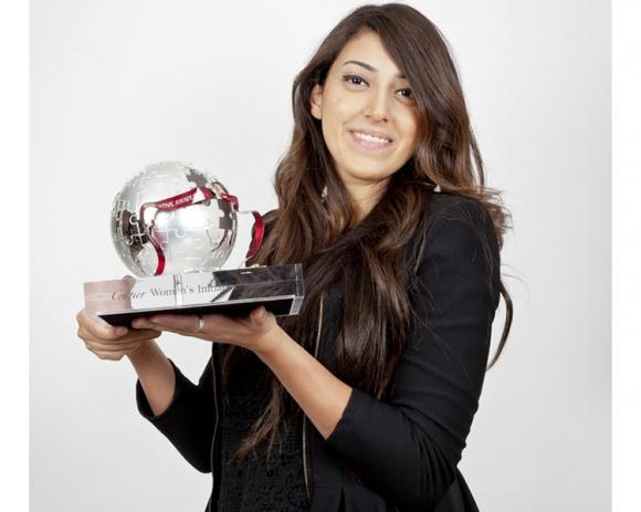 Mariam Hazem (Egipto), ganadora por Medio Orienta y el norte de África.