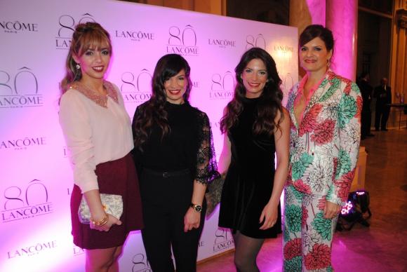 Virginia Rama, Alejandra Leguizamón, Evelyn Contreras, Silvana Lestido.