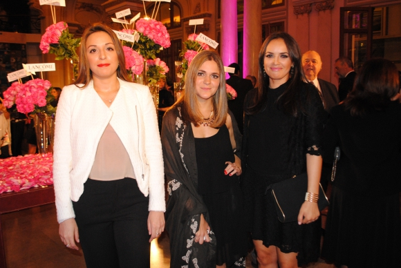 Florencia Bove, Melissa Estéves, Andrea Zapata.
