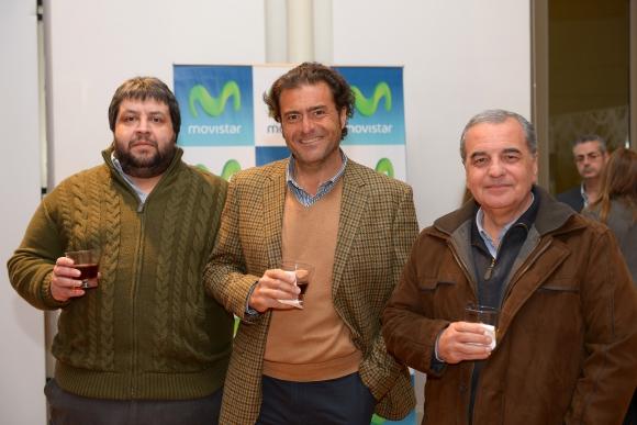 Jorge Yaniero, Carlos Coppola, Omar Manzo.