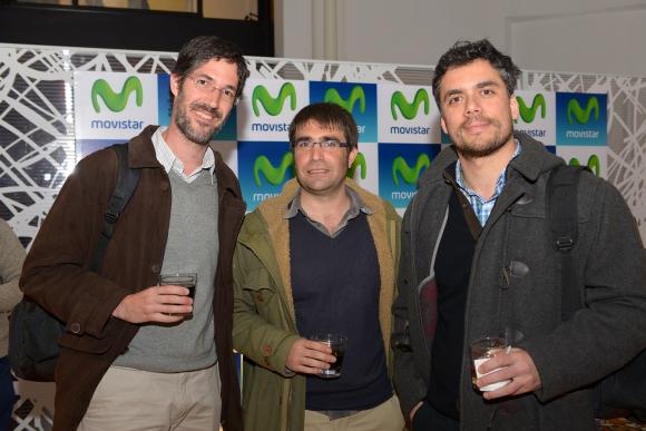 Juan Pera, Diego González, Diego Meliante.