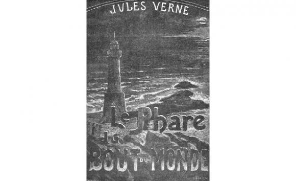 Portada de El Faro del Fin del Mundo, de Julio Verne.