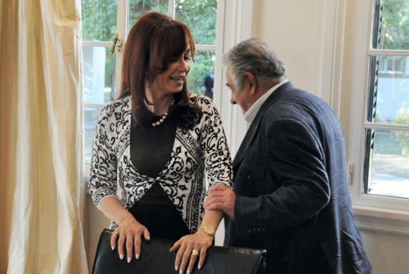 Con Cristina Fernández, una relación con altos y bajos. Foto: Archivo El País