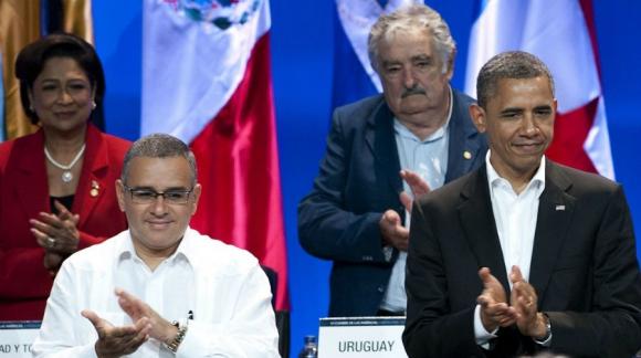 Cerca del presidente de EE.UU., Barack Obama. Foto: Archivo El País