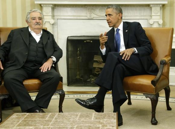 Con quién se reunió más adelante en Washington. Foto: Archivo El País
