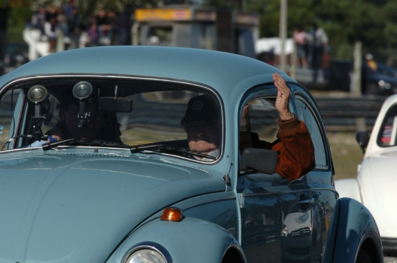 El Fusca de Mujica alcanzó fama mundial. Foto: Archivo El País
