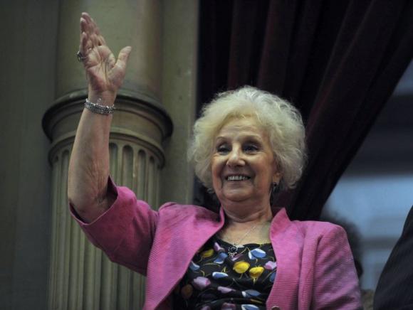 Estela de Carlotto. Foto: AFP