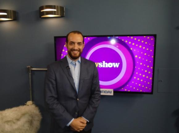 Fernando Amado en Tv Show.