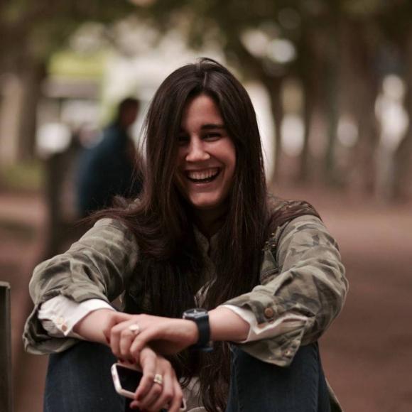 Florencia Querol, la periodista novia de Fernando Amado. Foto: Facebook