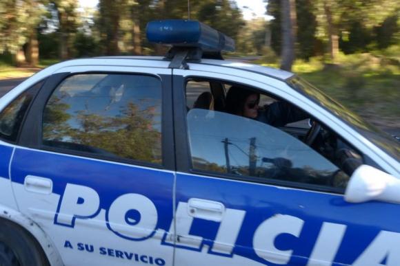 robo patrullero policia
