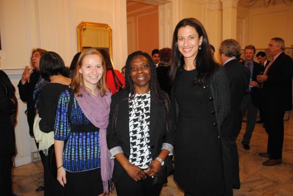 Amanda Poppe, Grace Atebe, Michelle L. Riebeling.