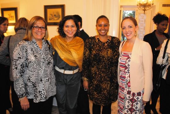 Beatriz Greco, Marcela Amaral, Aysha Wong, Ashley Ward.