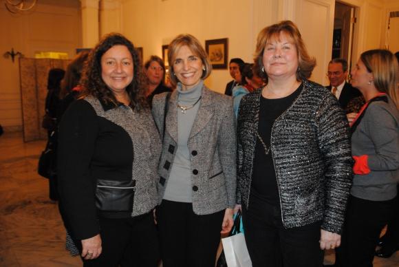 Marcela Serra, Luisa Peirano, María Helena Rodríguez Larreta.