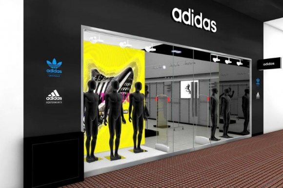 adidas outlet 18 de julio