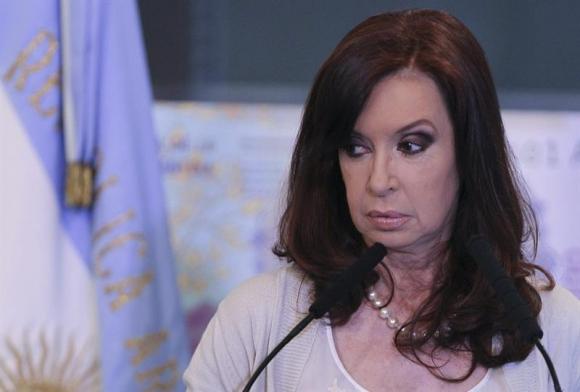 Cristina Fernández. Foto: EFE