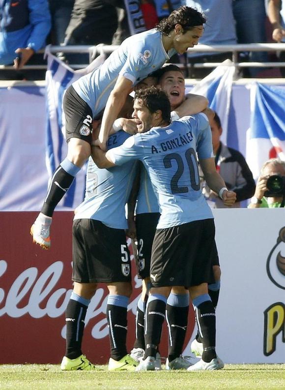 Festejo de Uruguay