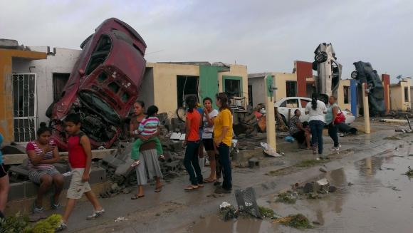 Al menos 11 muertos tras tornado en México. Foto: Reuters