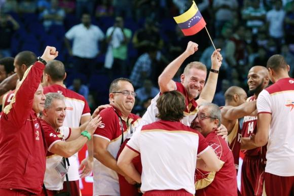 Venezuela festeja el pase a los Juegos Olímpicos