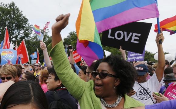 Suprema Corte de EE.UU aprueba matrimonio igualitario en todo Estados Unidos. Foto: Reuters