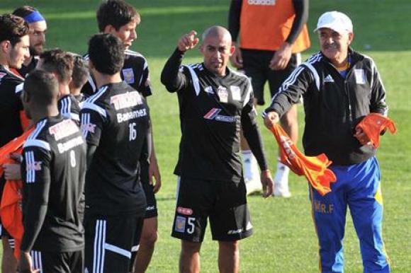 Egidio Arévalo Ríos en el entrenamiento de Tigres. Foto: La Nación / GDA.