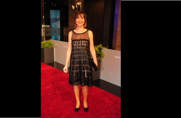 Ana Nahúm en los Premios Iris en setiembre de 2014