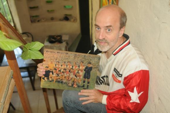 El escritor Gustavo Esmoris. (Foto: Francisco Flores)