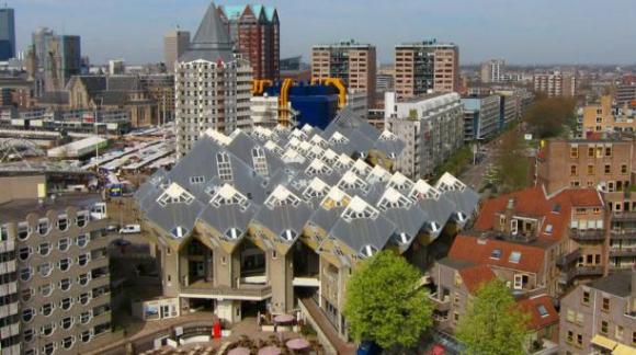 En Rótterdam se pueden observar verdaderas obras maestras de la arquitectura. Foto: Wikicommons.