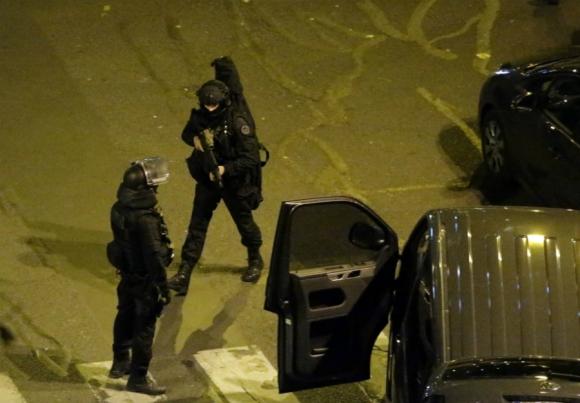 Noche de pánico y horror en las calles de París. Foto: AFP