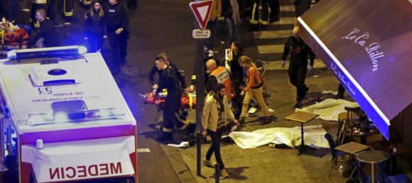 Más de 100 muertos en atentados terroristas en París. Foto: Reuters