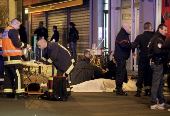 Atentado en Paris. Foto: AFP