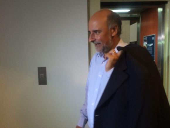 Pablo Mieres se reúne con Vázquez. Foto: Florencia Barré
