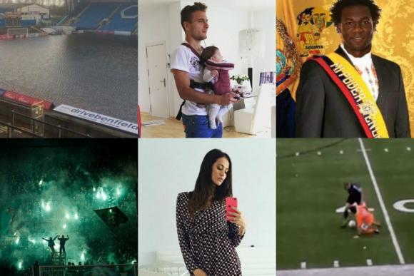 El futbolista presidente, el padre adicto al Play, el mejor caño y más