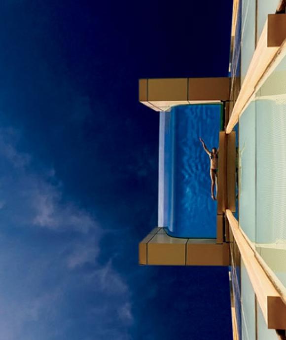 Hotel Intercontinental Dubai Festival City.
