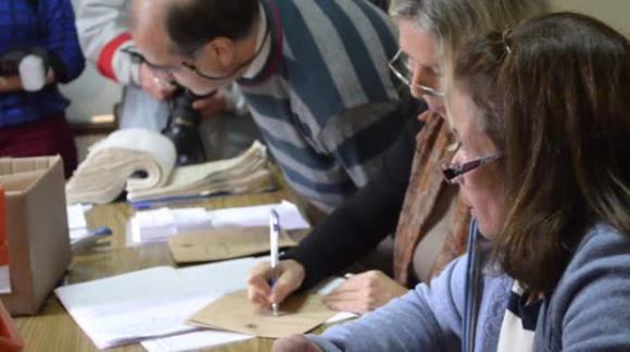 Elecciones municipales - Votación Edgardo Novick