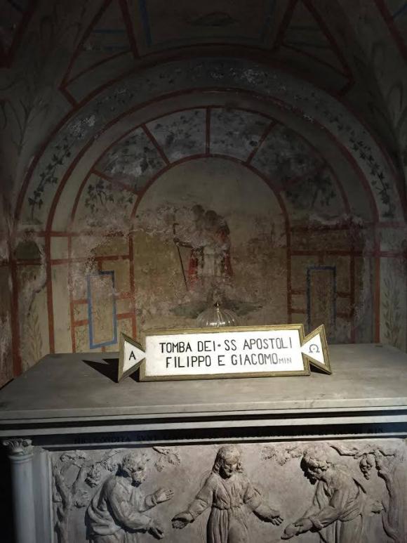 Basílica de los Santos Apóstoles en Roma. Foto: @gonzaloaemilius