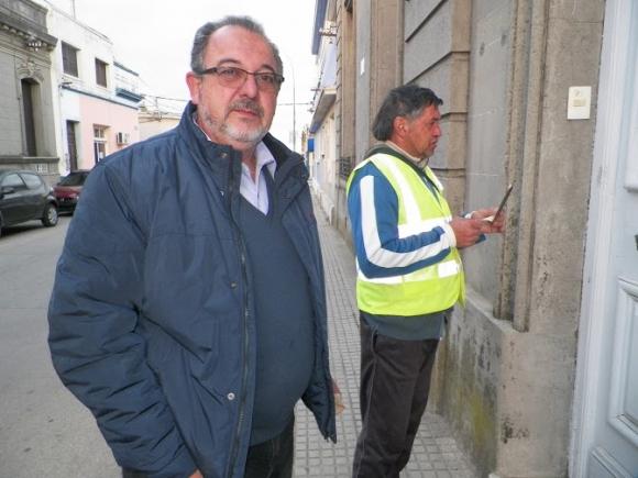 Votó el candidato del Frente Amplio a la Intendencia de Rocha Pilar Altez. Foto: Eduardo González.