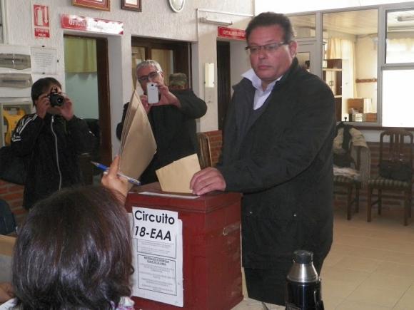 El candidato del MPP en Rocha Aníbal Pereyra. Foto: Eduardo González