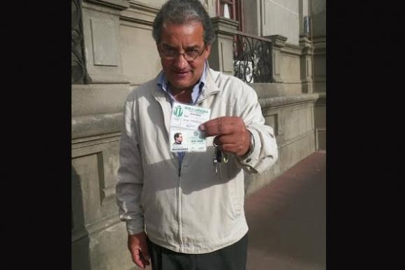 El candidato nacionalista de Rocha José Carlos Cardoso votó en la Intendencia de Rocha. Foto: Eduardo González