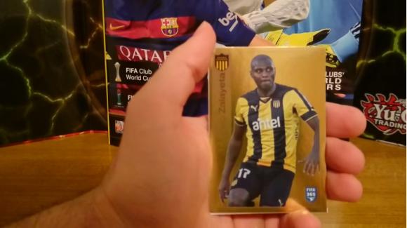 Marcelo Zalayeta en el Álbum Panini FIFA 365. Foto: captura video Youtube