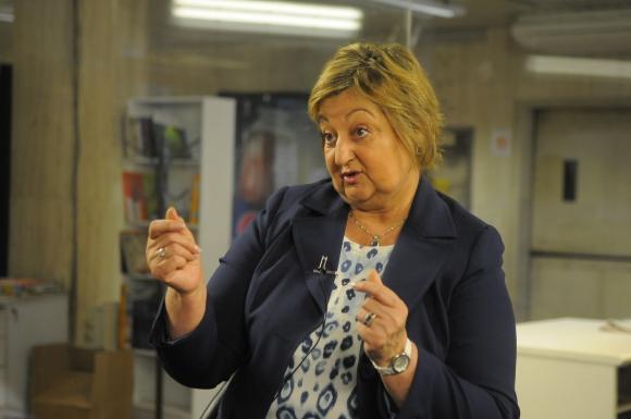 """Kechichian. """"No seré ministra de Turismo en el momento en que a alguien se le ocurra poner trabas a los uruguayos que quieran ir adonde quieran ir"""". Foto: Archivo El País."""
