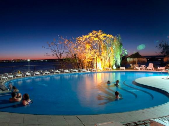 Las termas de Salto (Foto: Hotel Horacio Quiroga)