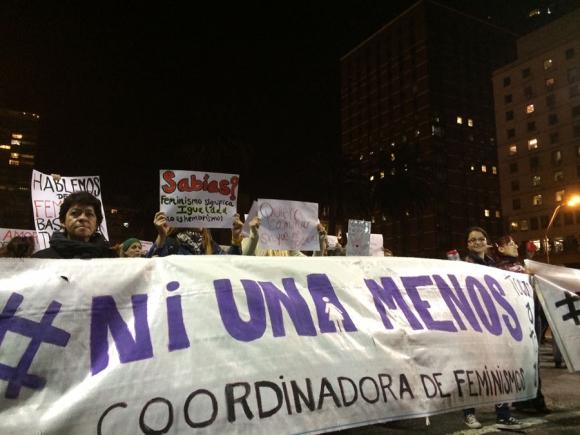Marcha  #Niunamenos. Foto: Florencia Barre