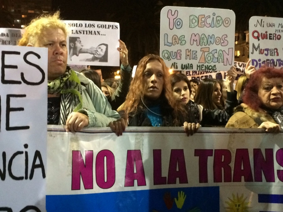 Marcha  #Niunamenos. Foto: F. Barre