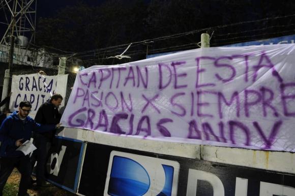 Andrés Fleurquin se despidió del fútbol. Foto: Fernando Ponzetto
